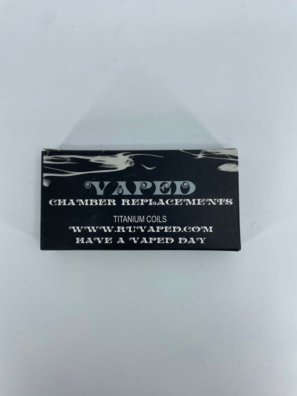 VAPED TITANIUM COILS CHAMBER REPLACEMENTS 12pk