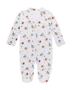 Little bears Ultra-soft Peruvian Pima cotton baby one-piece