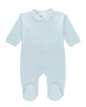 Plush Baby Blue One Piece