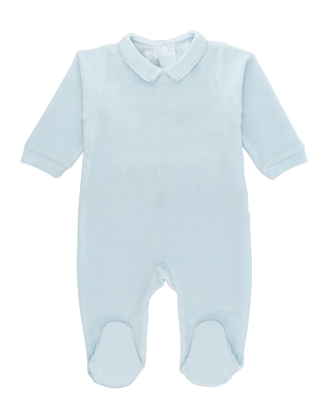 Blue Ultra-soft cotton baby one-piece