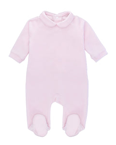 Pink Ultra-soft cotton baby one-piece