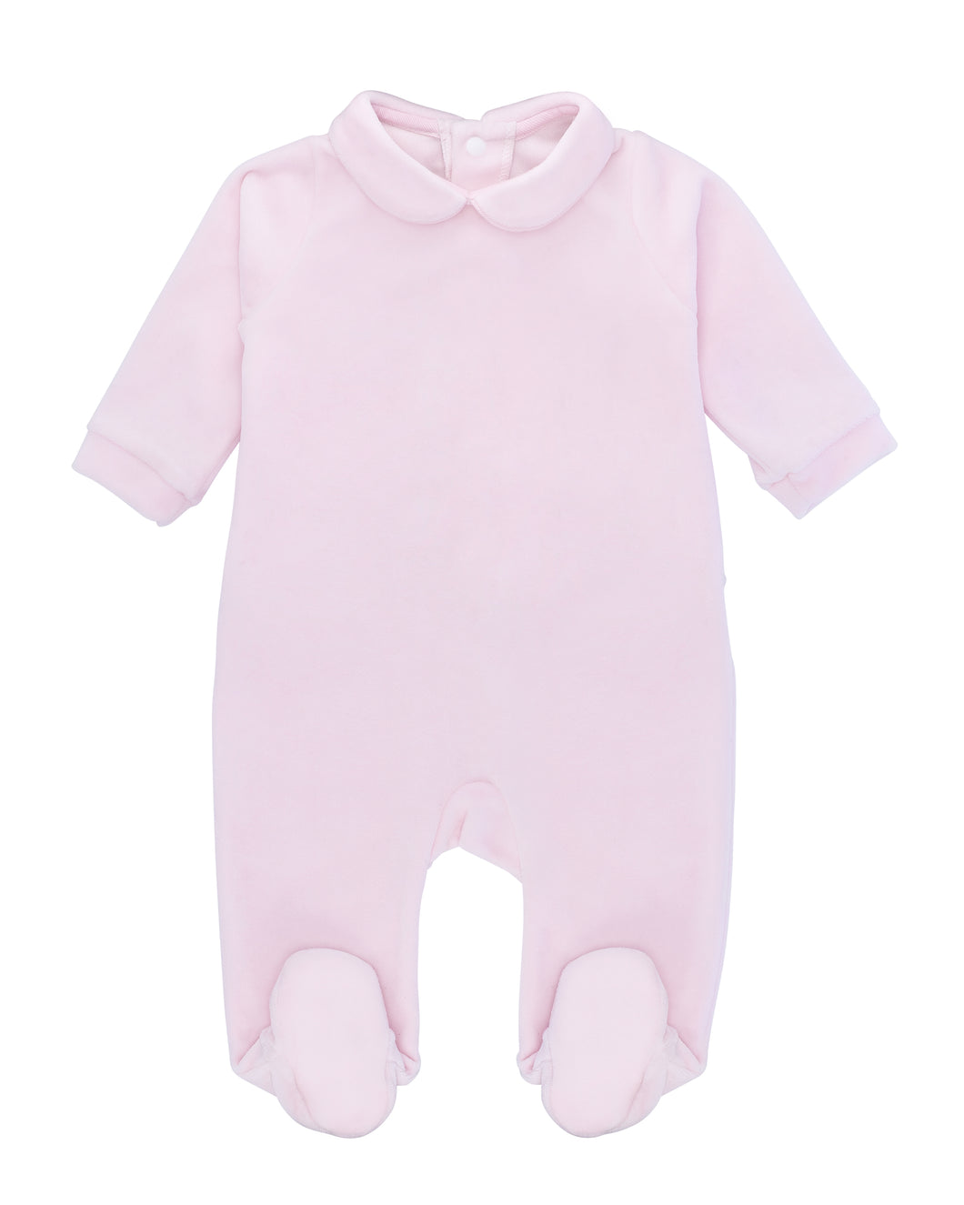Plush Baby Pink One Piece