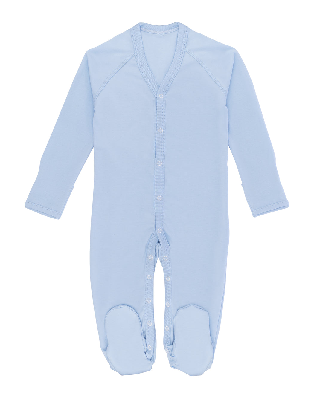 Baby Blue Footie
