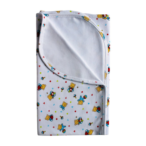 Little Bears Pima Cotton Large Baby Blanket