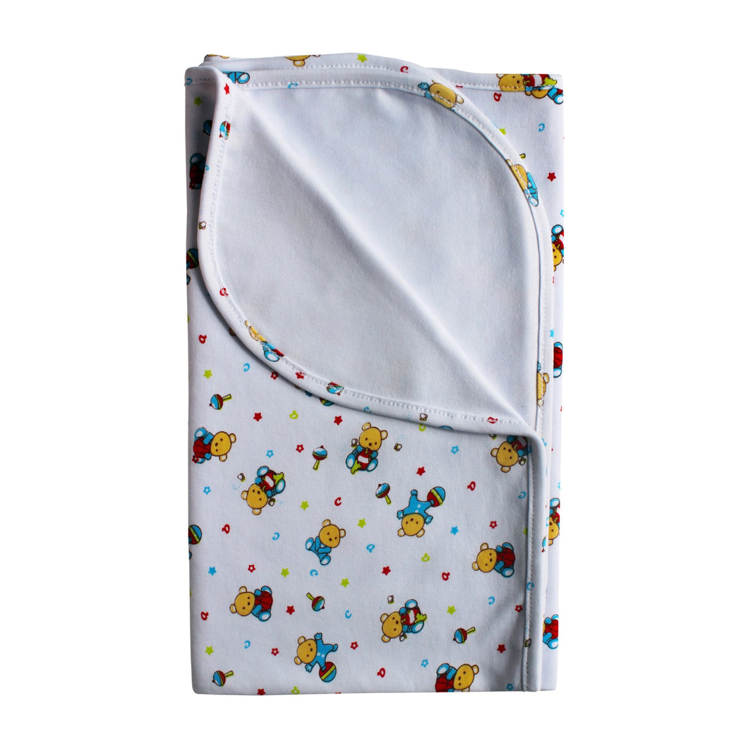 Little Bears Pima Cotton Large Blanket