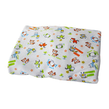 Safari Animals Pima Cotton Crib Sheet