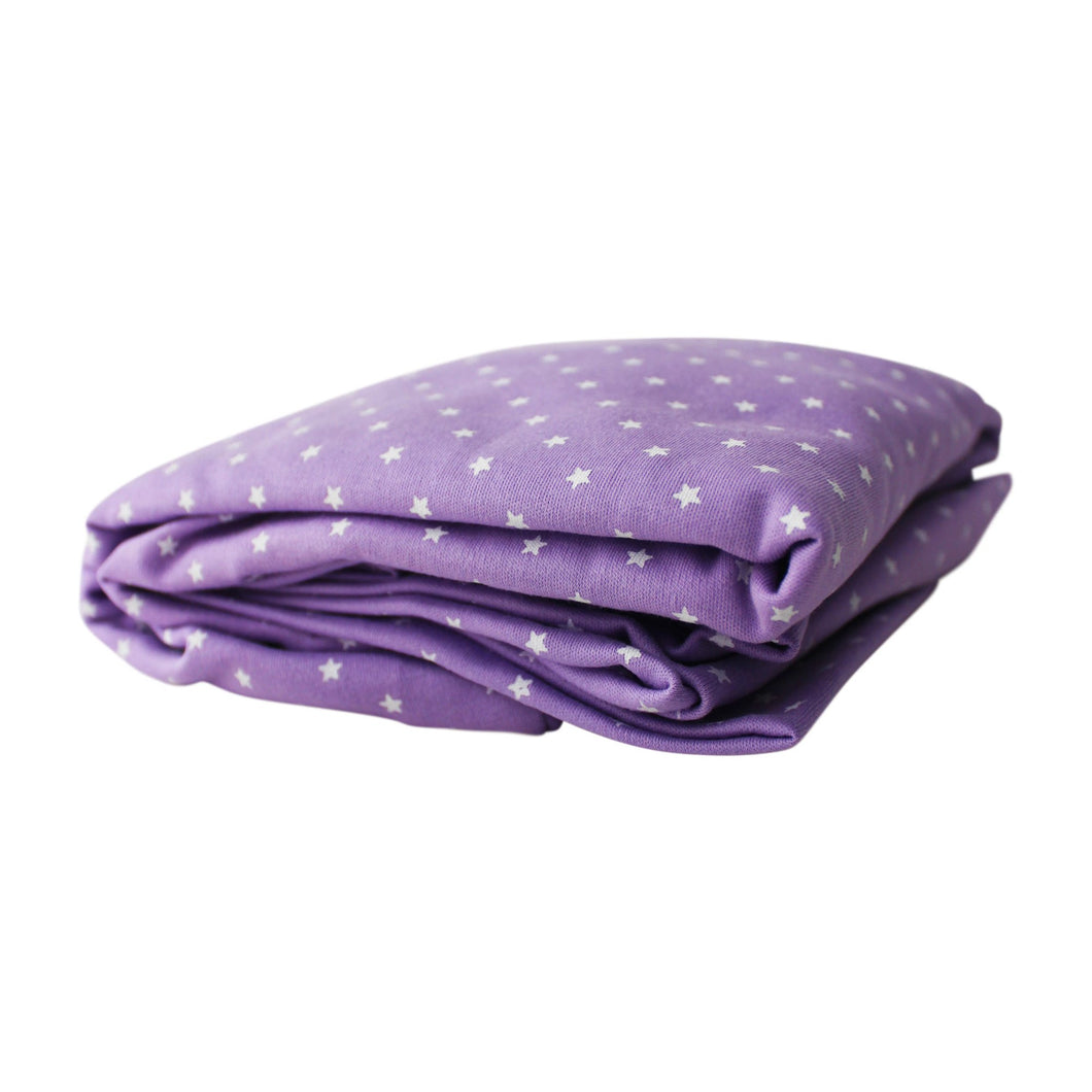 Lavender Sky Pima Cotton Super Soft Crib Sheet