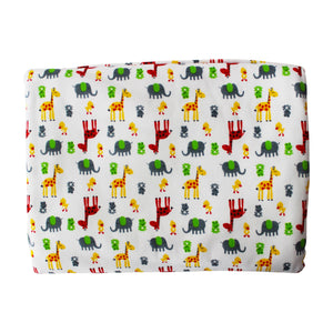 Giraffes Pima Cotton Crib Sheet