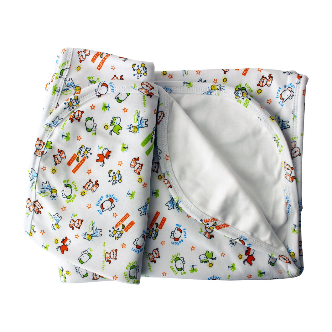 Safari Animals Pima Cotton Baby Blanket