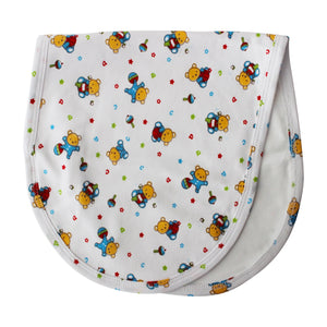 Little bears extra soft Pima cotton baby burp cloth