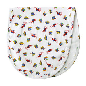 on the road extra soft Pima cotton baby burpcloth