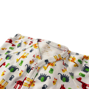 Giraffe Ultra-soft Peruvian Pima cotton baby one-piece