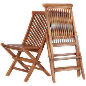 Teak Chair Set of 2