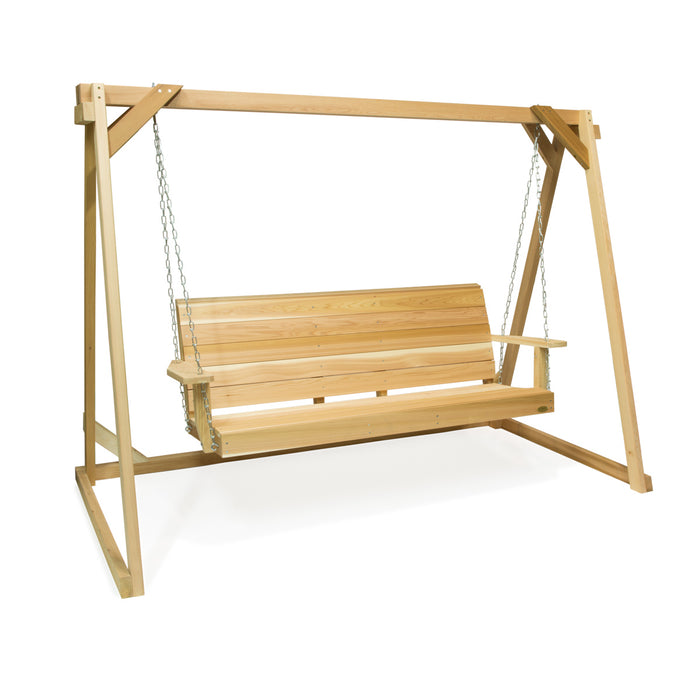 5 ft. Porch Swing with a Frame