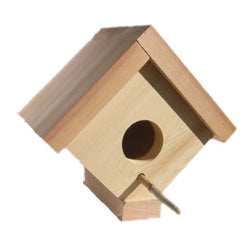 Traditional Cedar Birdhouse