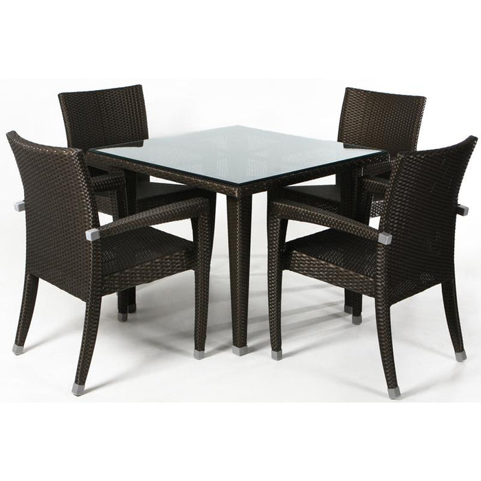 5 Piece Patio Table Set