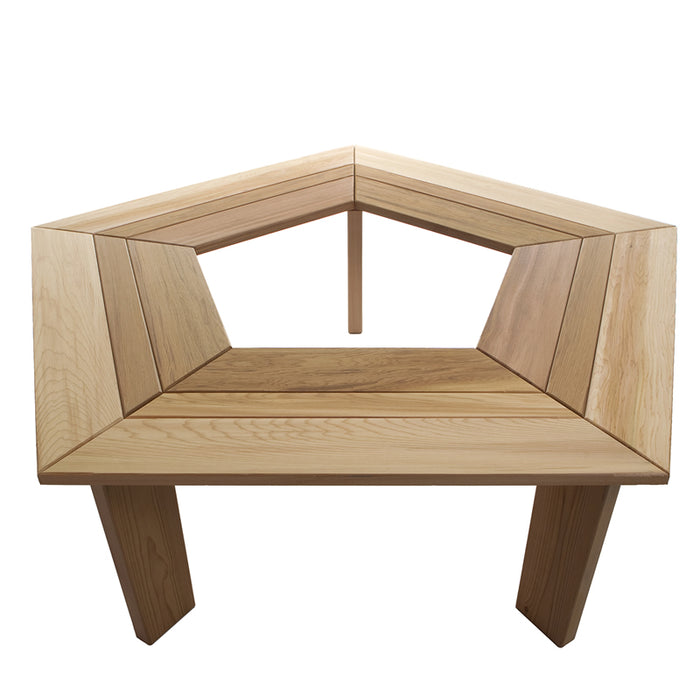 5 Sided Tree Bench