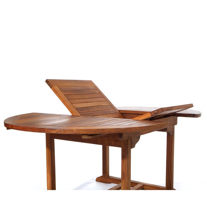 Teak Extension Dining Table (Oval)