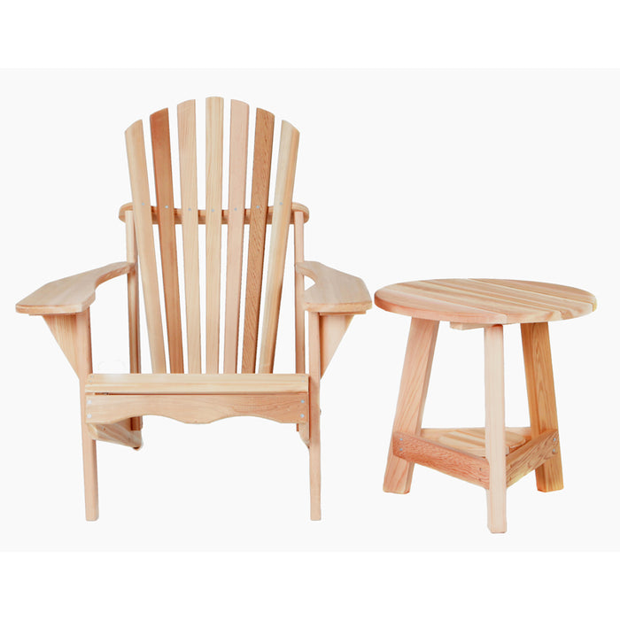 Cedar Table and Chair