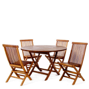 5pc Folding Table Set