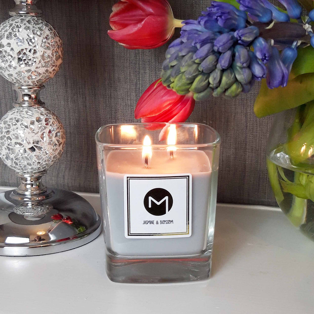 Scented Candle - Jasmine & Blossom