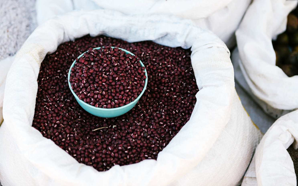 bunsa beauty - skincare ingredient adzuki beans