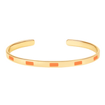 Bracelet Tempo Mandarine - Bangle Up - Natoho