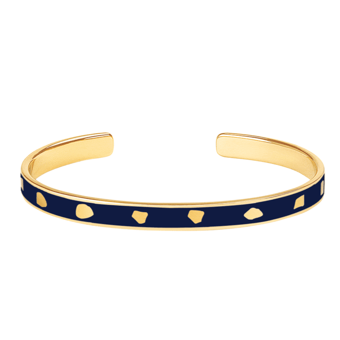 Bracelet Jude Bleu Nuit - Bangle Up - Natoho