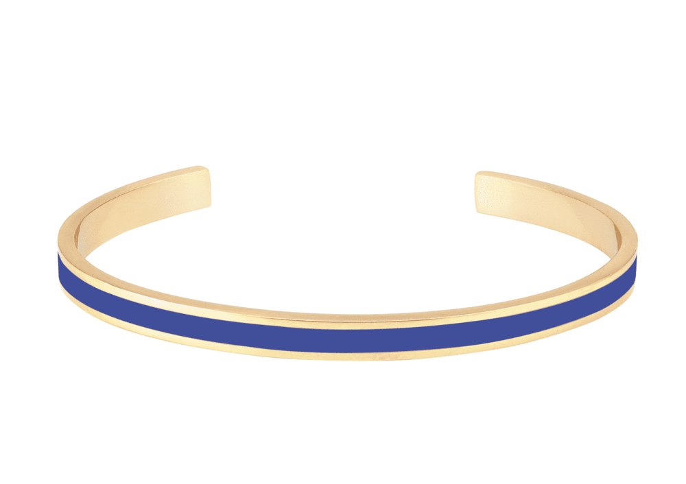Bracelet Bangle Bleu Clématis - Bangle Up - Natoho