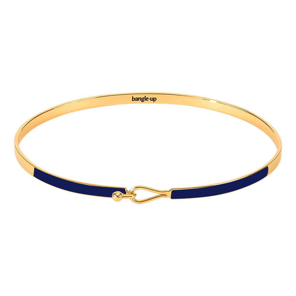 Bracelet Lily Bleu Nuit - Bangle Up - Natoho