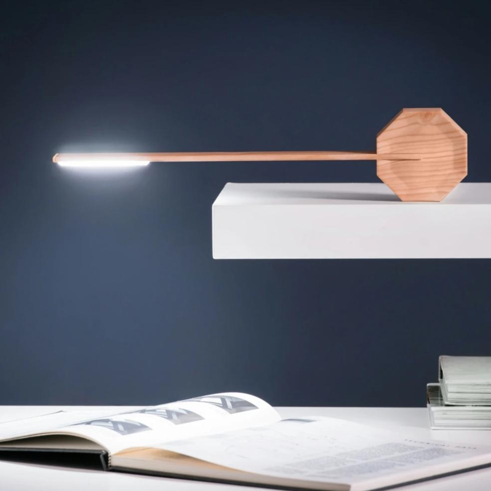 Lampe de bureau OCTAGON ONE - Gingko