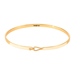 Bracelet Lily Blanc Sable - Bangle Up - Natoho