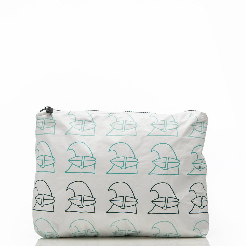 Mid Jack Johnson x ALOHA School of Waves Pouch - Aloha - Natoho