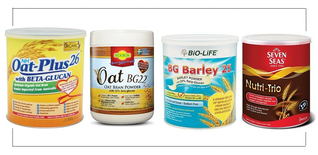 Beta-glucan | Oat Bran Products Malaysia | superfood for lowering cholesterol