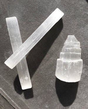 Selenite Wands & Towers