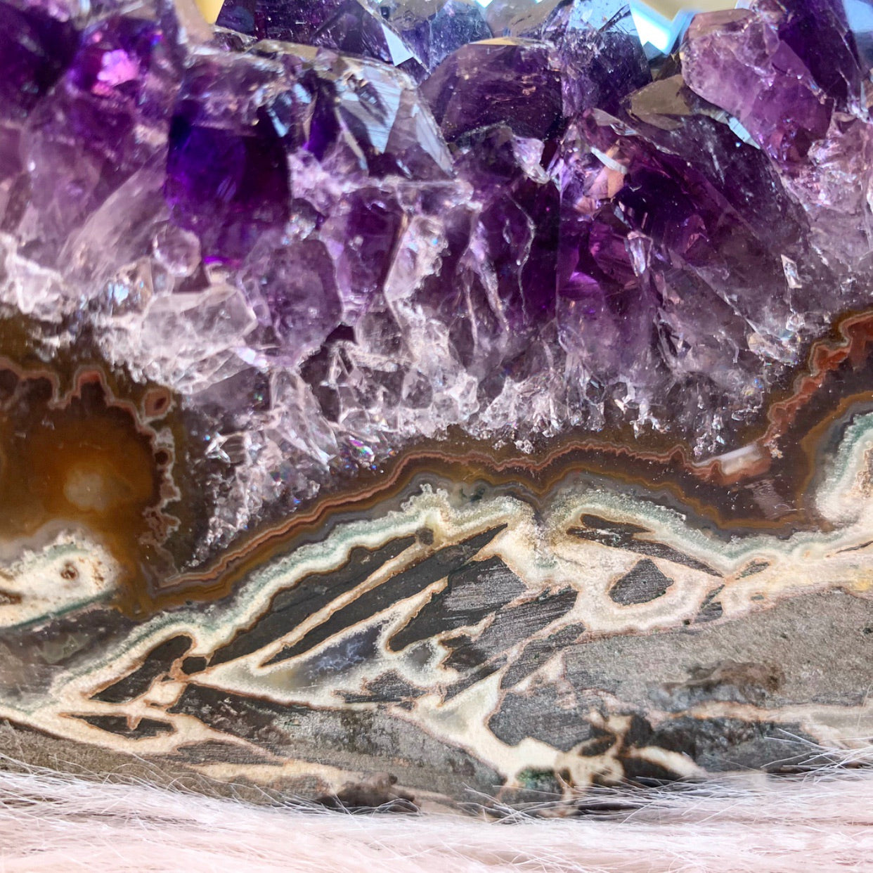 Amethyst Cluster XL on Stand (8.6kg)