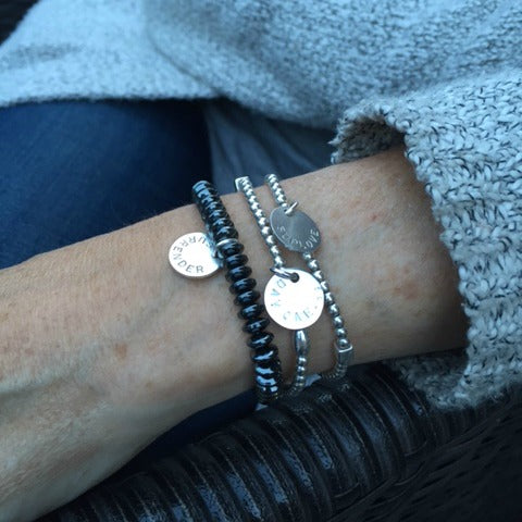 Hematite Bracelet: Keep Calm and Hematite On
