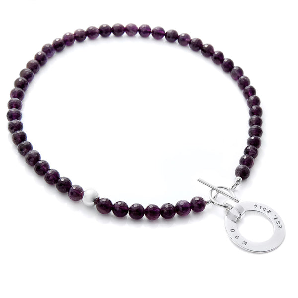 Sunny Amethyst Necklace