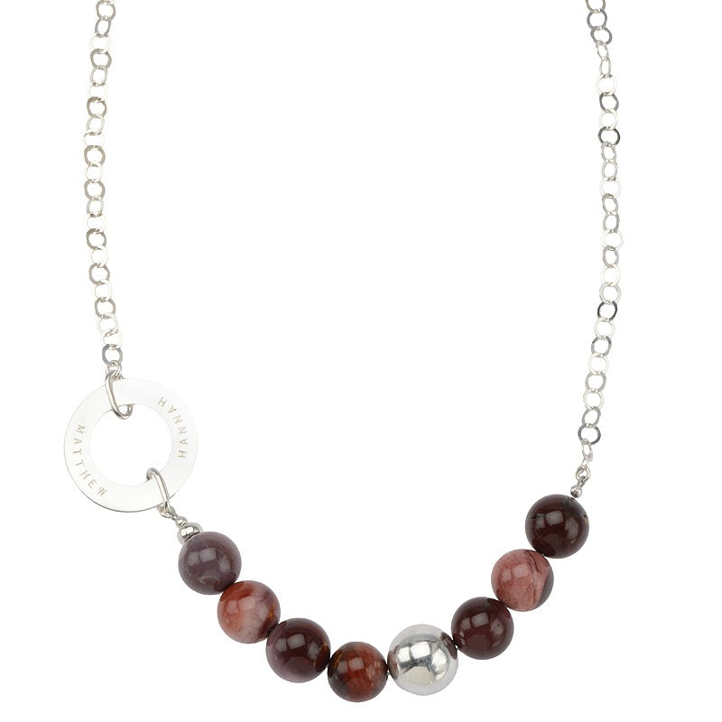 Chic Mookaite Necklace