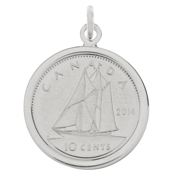 Canadian Dime Charm