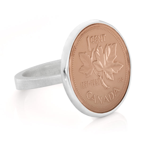 Canadian Penny Ring