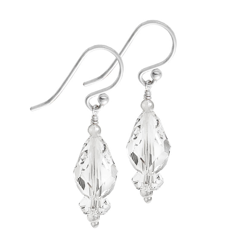 Double Crystal Earrings