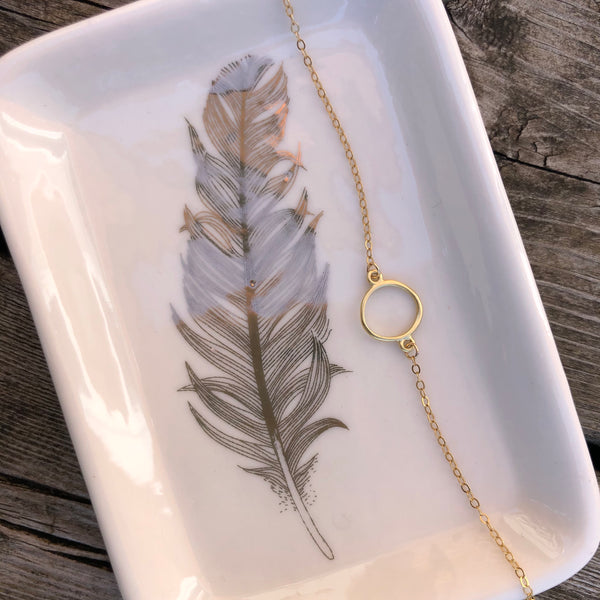 Golden Eternity Necklace