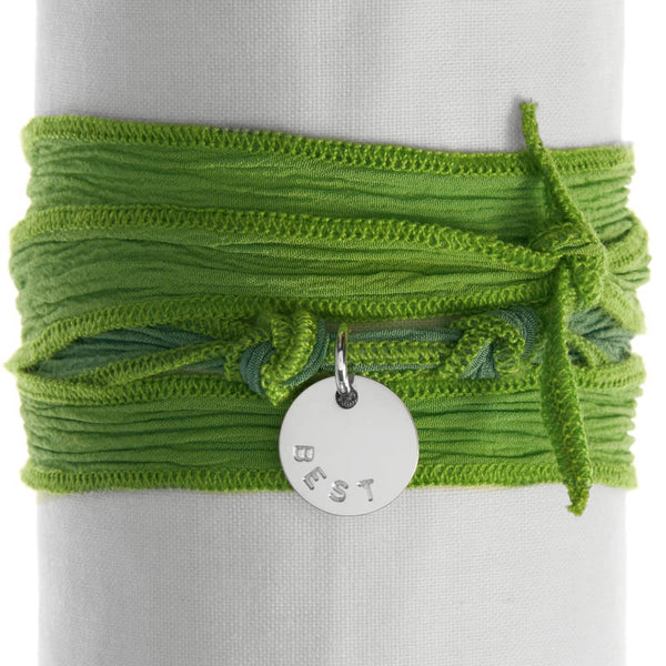 Green Apple Silk Wrap