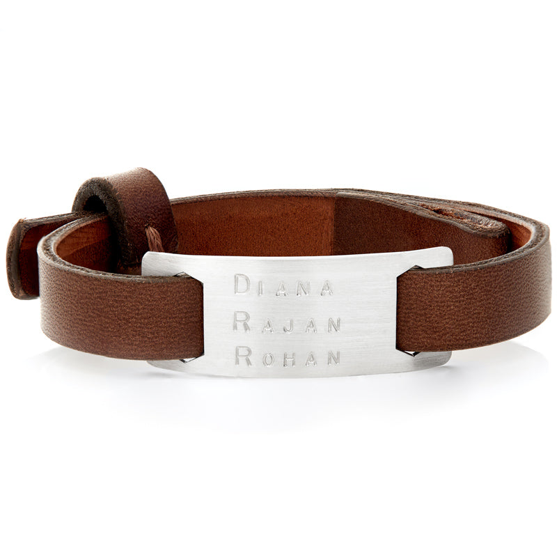 Marley Brown Leather Bracelet