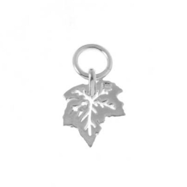 Citrus Silver | Silver Jewellery, Handmade jewelry in Toronto | Our Canadianna collection with patriotic jewellery, canadian penny jewelry, hockey jewelry | Leaf Charm resembling a Canadian Maple Leaf is the perfect addition to a necklace or bracelet to reflect your spirit.
