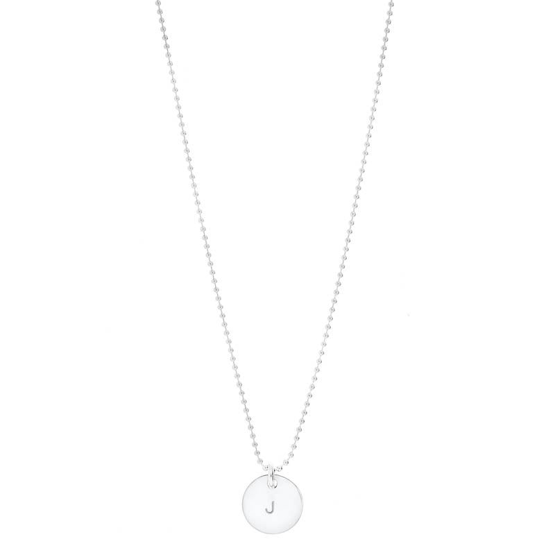 Petal Thin Ball Necklace