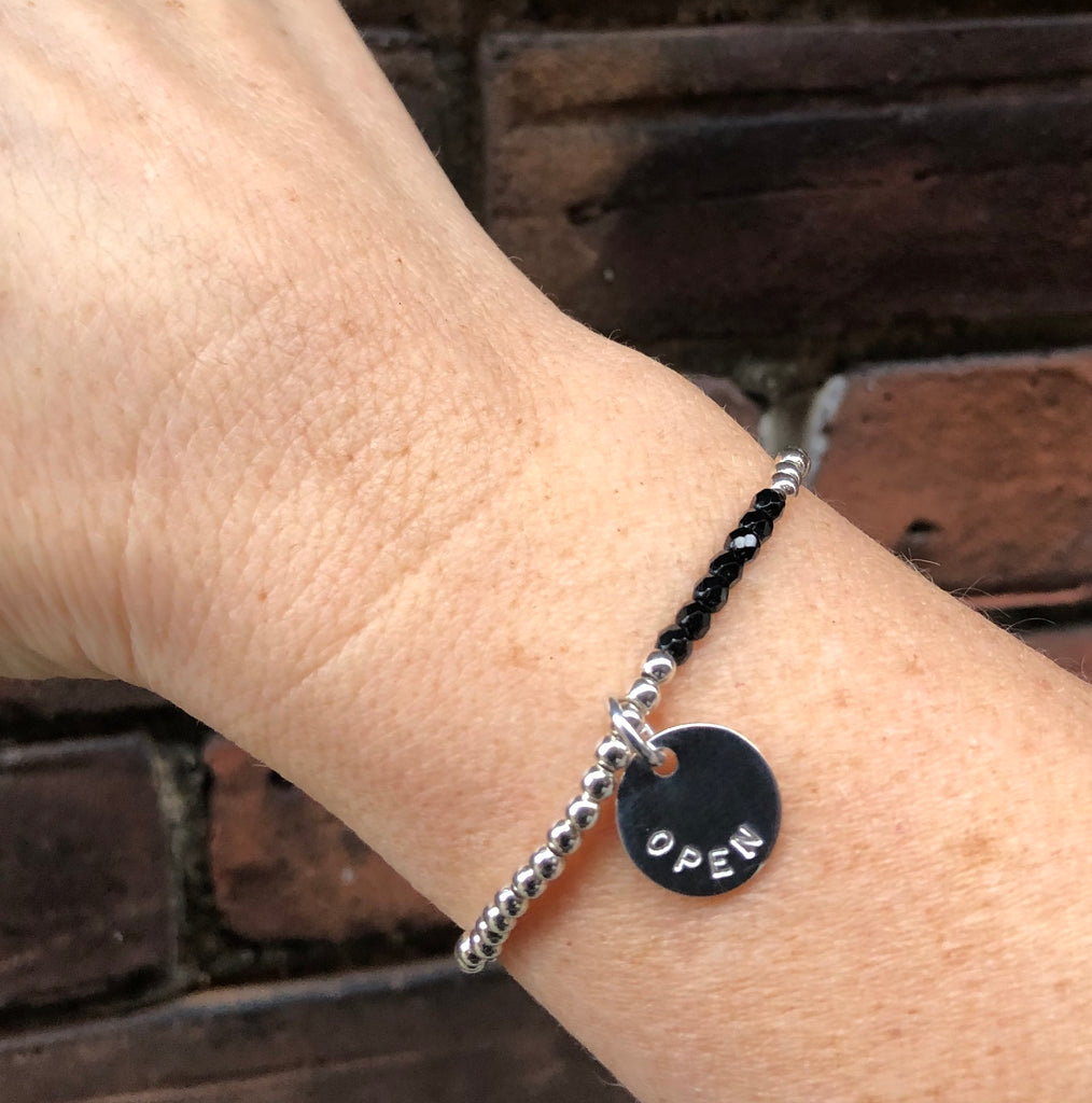 Onyx Intention Bracelet