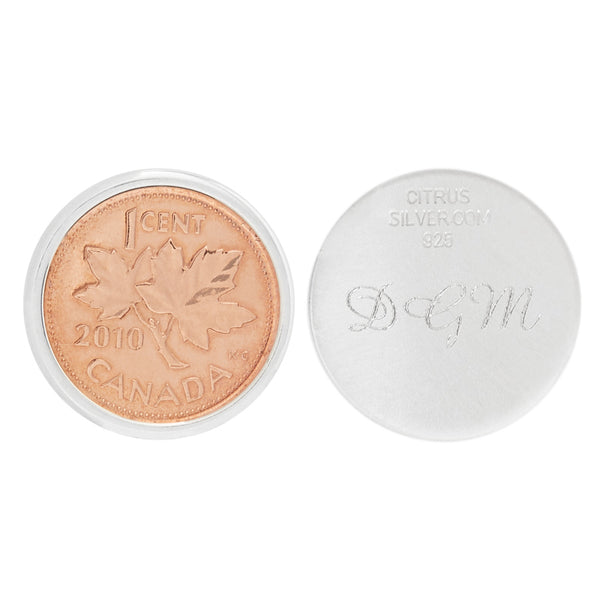 Personalized Canadian Penny Ball Marker