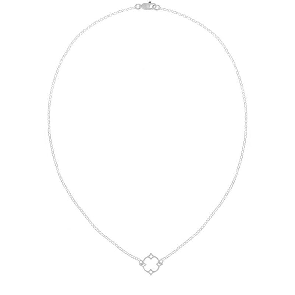 Quatrefoil Necklace